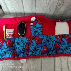 Sleep over toiletry bag and sleep mask