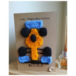 Knitted F1 card