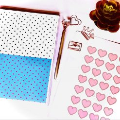 Stationery Gift Set for Friend, Positivity Daily Planner, Wellness Planner, Present for Mum, Birthday Present, Birthday Gifts for Her