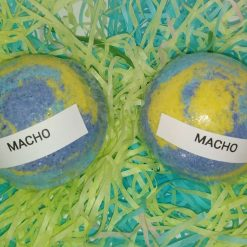 BATH BOMB - 3 LARGE - MACHO - GIFT SET