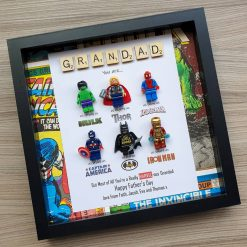Personalised Marvel Box Frame - Any Recipient and Occasion