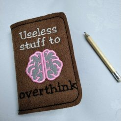 Useless Stuff Notebook Cover and Notepad from Sand Bags St Ives by Naomi