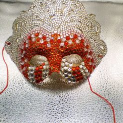 Adult size Jewelled mask for mardi gras  fancy dress, party's, dressup