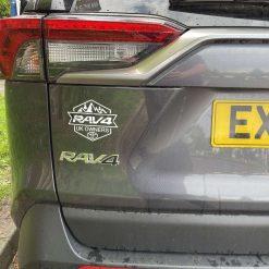 Toyota RAV4 Decal