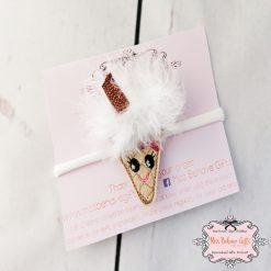 Fluffy fur Ice Cream Soft Headband