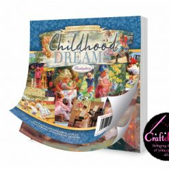 """Hunkydory, The Square Little Book Of - Childhood Dreams - 5"""" x 5"""" - 150gsm - 150 Sheets"""