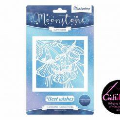 Hunkydory - Moonstone - Forever Florals - Summer Splendour - Flowering Fuchsia Panel Die