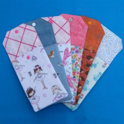 Reusable money/phone pouch/cutlery holders 2