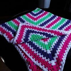 Crochet Blanket or Throw Handmade