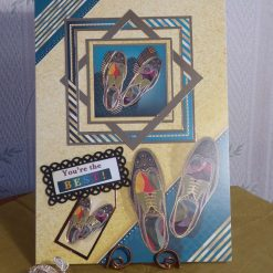 Fancy Shoes - You're The Best Any Occasion Card