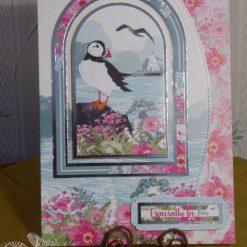 Puffin Sea Scene, Any Occasion Card