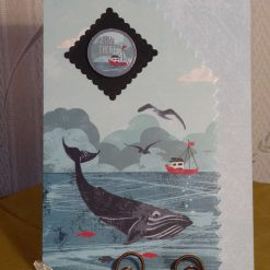 Ahoy There! Whale & Sea Scene Any Occasion Card