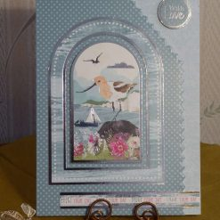 Arched Seabird Scene, Any Occasion Card