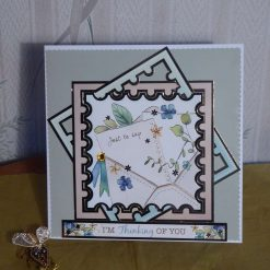 Teal, Thinking of You Card