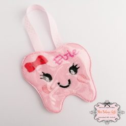 Personalised Tooth Fairy Coin Pouch 2