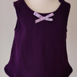 Purple Tunic Top by SerendipityGDDs, for Age 2