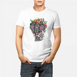 Elephant and Baby Elephant - Mens T-Shirt - Artwork by the Very Talented Artist Sarah Neville - Made to Order