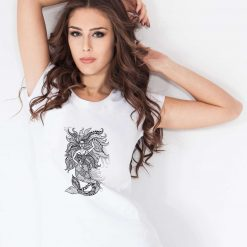Mermaid - Ladies T-Shirt (UK Sizes 8-40) - Artwork by the Very Talented Artist Sarah Neville - Made to Order