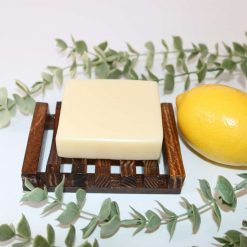 Soap Bar Teatree, Eucalyptus & Lemon 90g  all natural handcrafted with love💚