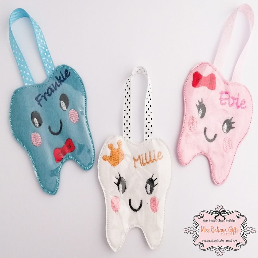 Personalised Tooth Fairy Coin Pouch