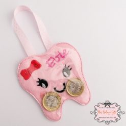 Personalised Tooth Fairy Coin Pouch 4