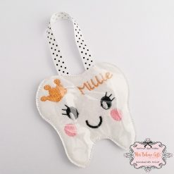 Personalised Tooth Fairy Coin Pouch 1