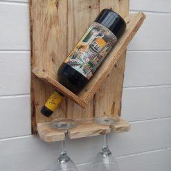 Wine Rack - Reclaimed Wood
