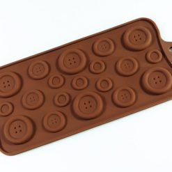 Buttons - Silicone Chocolate and Cake Decorating Mould (3 sizes in one mould)