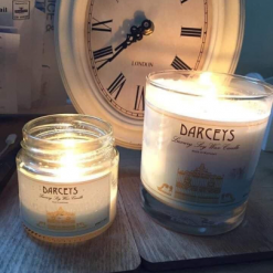 Darceys Small Soy Wax Candles Multiple Scents – Birthday Thank You Teacher Baby Wedding Memory Congratulations