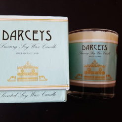 Darceys Large Soy Wax Candles Multiple Scents – Birthday Thank You Teacher Baby Wedding Memory Congratulations