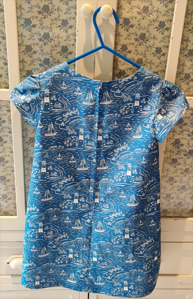 English Coast Dress by SerendipityGDDs for Age 3