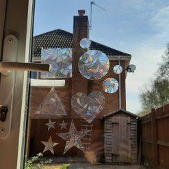 Rainbow Mix Hearts Suncatcher Window Film Prism Sticker. Sun Catcher Window Clings Decal Non Adhesive Decoration. Maker for Home, Car, Office, Caravan. Birthday Gift for Her, Mum, Nan, Kids, Friends 7