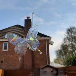 Rainbow Mix Butterfly SunCatcher Window Film Prism Sticker. Sun catcher Window Cling Decal Static Decoration.Maker Home,Car,Office,Caravan.June Gift 4