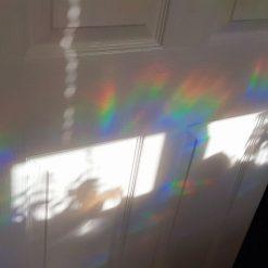 Rainbow Mix Butterfly SunCatcher Window Film Prism Sticker. Sun catcher Window Cling Decal Static Decoration.Maker Home,Car,Office,Caravan.June Gift 1