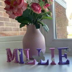 Personalised children's MDF letters