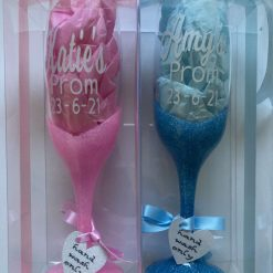 Personalised prom and graduation glasses