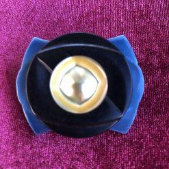 Unique Button Brooch