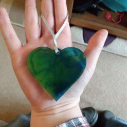 heart hanging décor