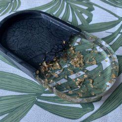 Oval trinket dish
