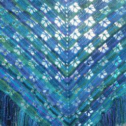 butterfly crochet shawl