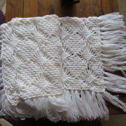 crochet baby shawl/blanket