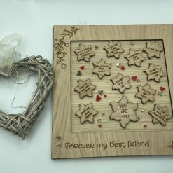 Layered frame gift - positive notes