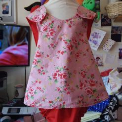 Open back outfit 2y