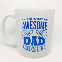 'Awesome Dad' Mug