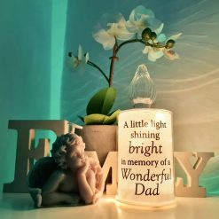Dad Light up candle