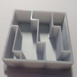 Mokume Gane pattern press- Wide Steps