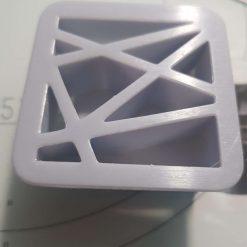 Mokume Gane pattern press- Triangles