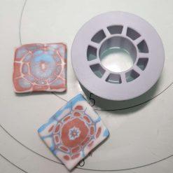 Mokume Gane pattern press- Circles