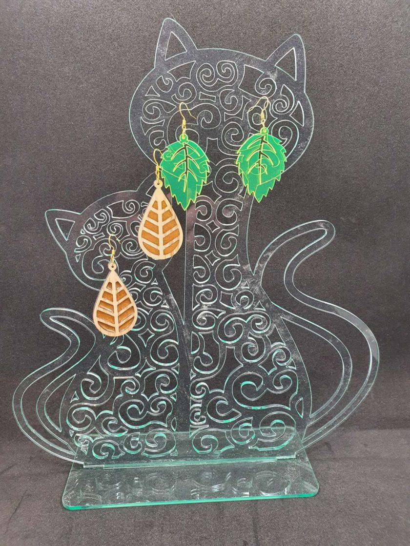 Cat Earring stand set