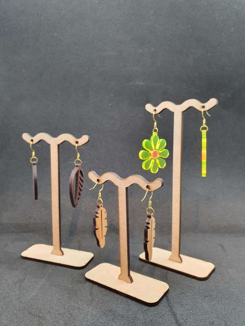 Earring stand set of 3 1